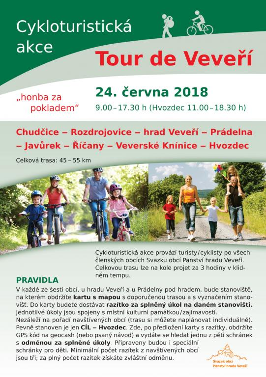 Pozvánka Tour de Veveří 2018